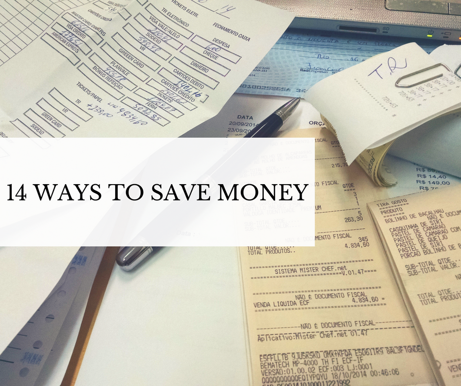 14 Ways To Save Money