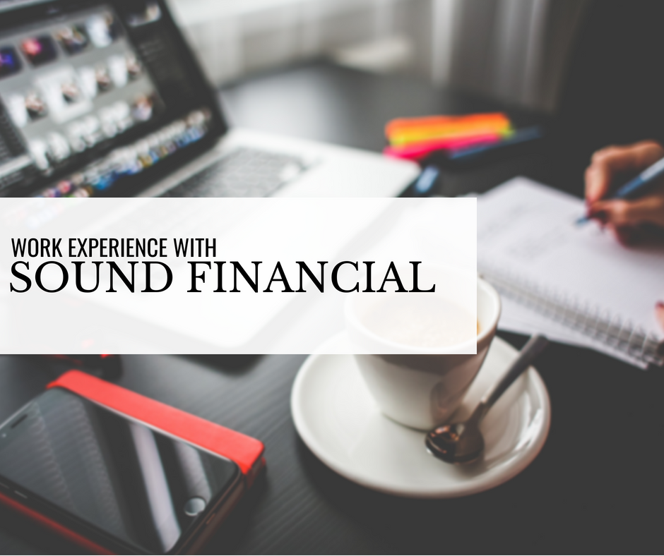 Work Experience with Sound Financial: Jacques Hubbarde